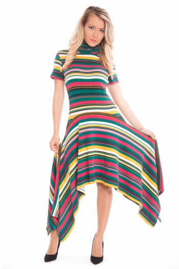 "Kleid ""AUTUMN RAINBOW"""