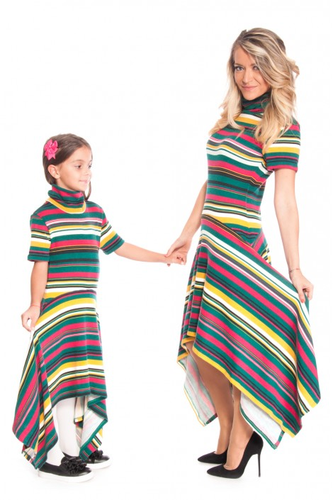 "Dresses ""AUTUMN RAINBOW"""