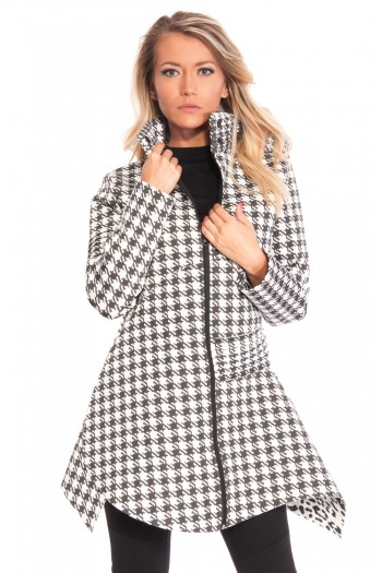"Coat ""BLACK & WHITE"""