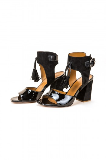 "Sandals ""Black Magic"""