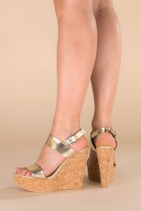 "Sandalen ""Golden summer"""