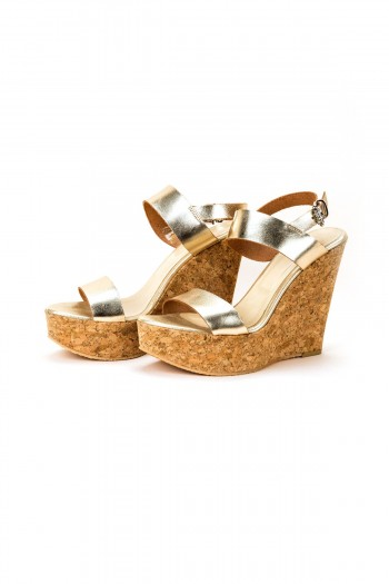 "Sandals ""Golden summer"""