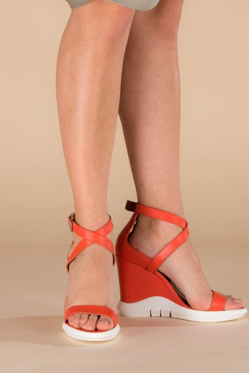 "Sandals ""Coral dream"""