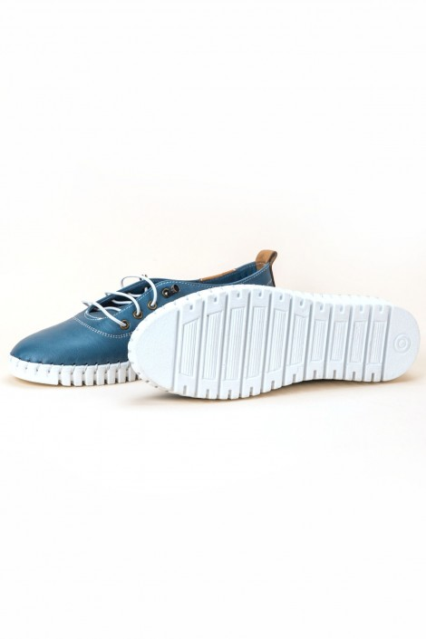 "Schuhe ""Blue Waves"""