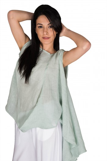 "Asymmetrical tunic ""SUNSET"""